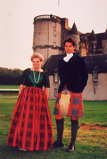 Lady Saltoun and Lord Lovat